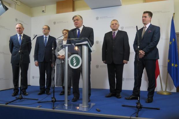 Minister Jurgiel przedstawił cele i zadania ministerstwa