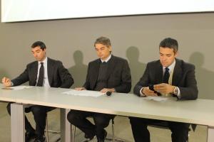 Zarząd Grupy SDF. Na zdjęciu od lewej: Aldo Carozza, Lodovico Bussolati i Francesco Carozza, fot. kh