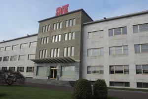 Budynek zarządu SDF przy fabryce w Treviglio, Włochy, fot. kh