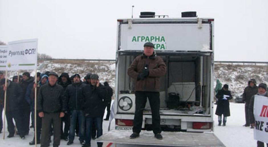 Ukraina: Rolnicy blokują drogi w odpowiedzi na zmiany podatkowe