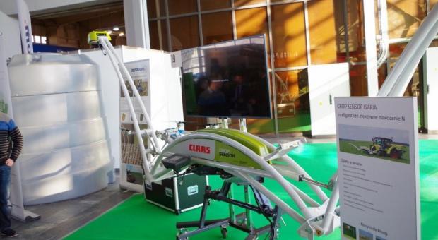 Claas Crop Sensor - krok w stronę większej efektywności nawożenia