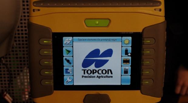 Nawigacje polowe Topcon na targach Polagra