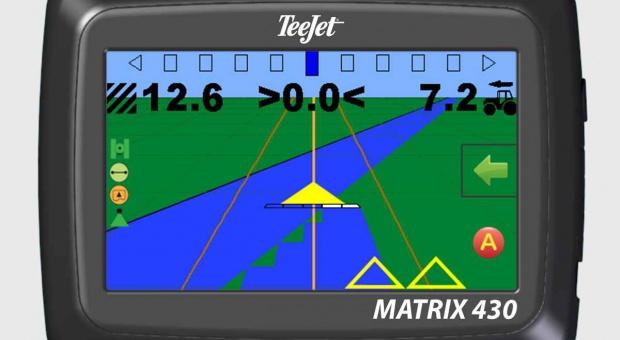 TeeJet Matrix 430 na targach Polagra, pierwsze spojrzenie