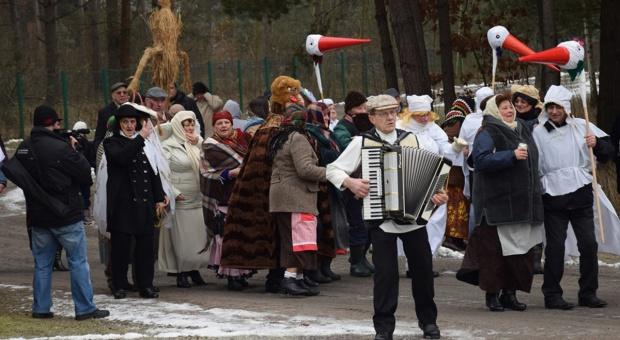Tradycje zapustne na festynie w skansenie