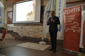 Wojciech Gołąbek menedżer ds. rozwoju rynku drobiowego Cargill Feed & Nutrition - zwrócił uwagę na ważne dla wsparcia produkcji zwierzęcej działania promocyjne i budowanie polskiej marki mięsa.