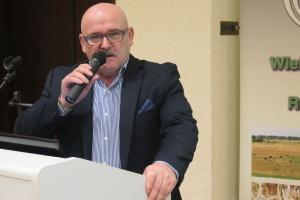 Józef Konarczak ze Stowarzyszenia Rzeźników i Wędliniarzy RP