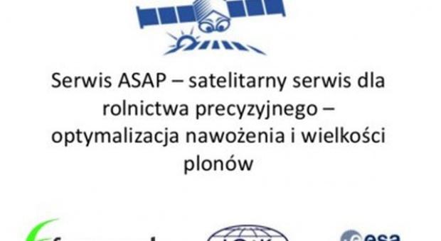 ASAP - satelity w służbie rolnikom!