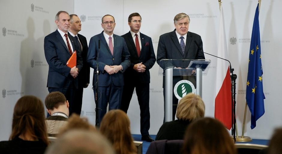 Minister Jurgiel podsumował 100 dni pracy