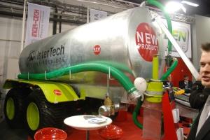 InterTech prezentuje wóz asenizacyjny