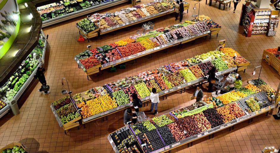 UE: Gdzie najmniejszy udział wydatków na żywność?
