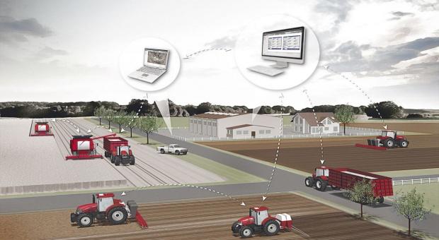 Systemy AFS Connect od Case IH do ochrony maszyn przed kradzieżą