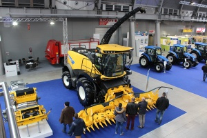 Sieczkarnia New Holland FR Forage Cruiser - nowość na Agrotechu
