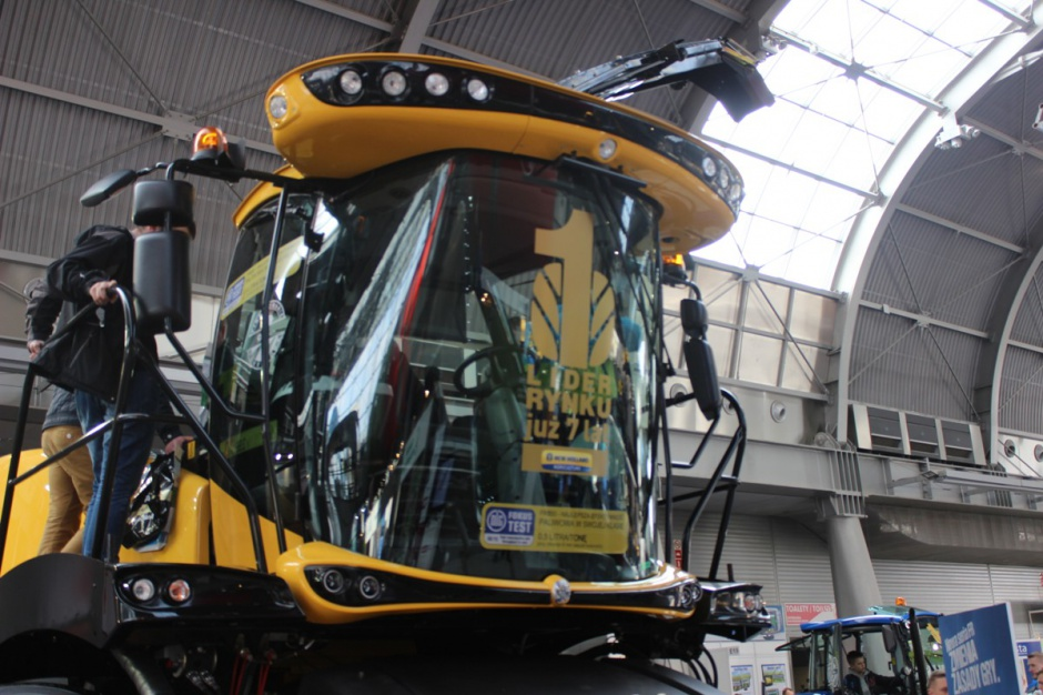 Kabina Harvest Suit Ultra zapewnia wysoki komfort pracy operatora oraz dodatkowo poprawia wygląd zewnętrzny maszyny. Fot. MK