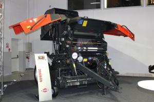 Modele VB 2260, VB 2290, VB 2265 oraz VB 2295 są standartowo przystosowane do pracy w technologii ISOBUS, fot. MK.