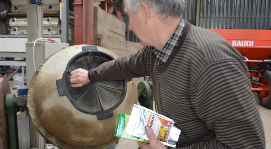 Zaszczep nasiona soi przed siewem
