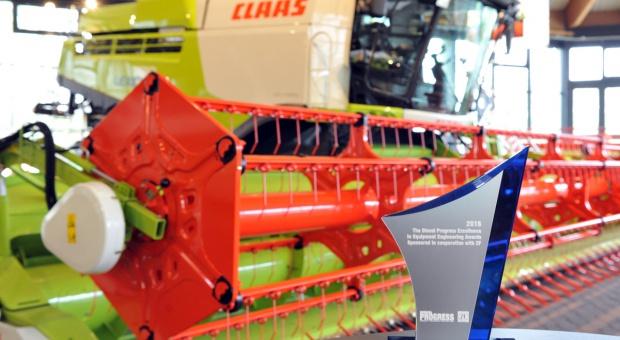 Claas Lexion 780 nagrodzony za technologię i wzornictwo