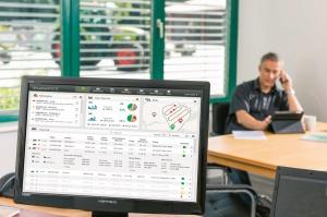 Zdalne zarządzenie maszynami i pracą jest możliwe m.in. dzięki systemowi Telematics, fot. Claas
