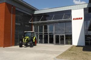Główne wejście do nowego obiektu; Fot. KW