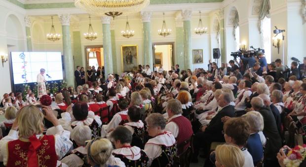 Koła Gospodyń Wiejskich z wizytą w Pałacu Prezydenckim