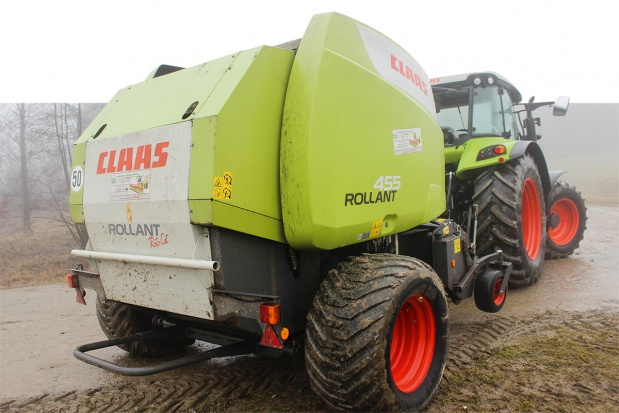 Prasa Claas Rollant 450 Roto Cut - sprawdzona w akcji