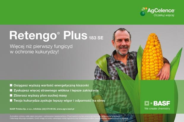 Retengo® Plus 183 SE dla wyższego plonu lepszej jakości!