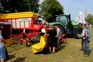 Wystawie zwierząt towarzyszyła również prezentacja maszyn rolniczych