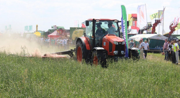 Zielone Agro Show 2016 w Ułężu - udany pokaz maszyn