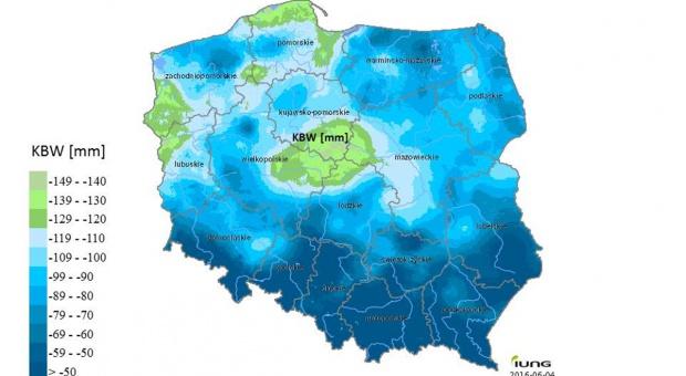 IUNG-PIB w Puławach: Susza w 6 województwach