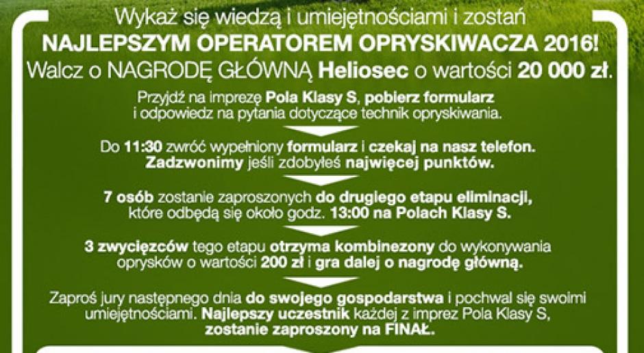 Weź udział w konkursie Syngenta i zostań pierwszym w Polsce mistrzem oprysków!