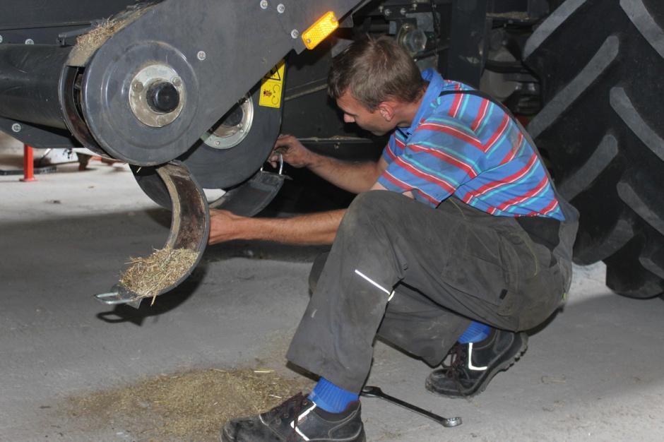 Przygotowanie kombajnu do kukurydzy. O czym pamiętać? fot. archiwum