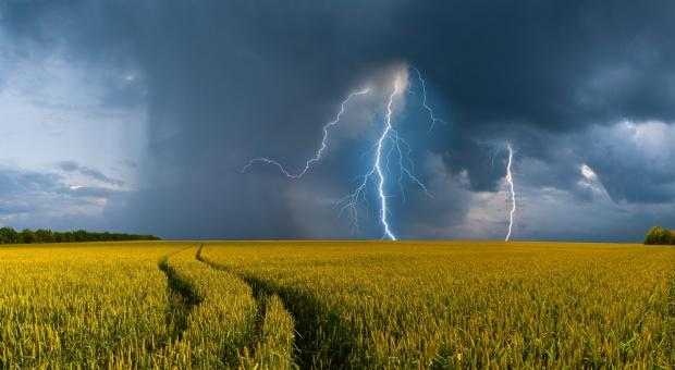 IMGW: ostrzeżenia przed burzami z gradem dla prawie całego kraju