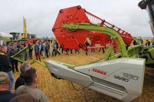 Roltex i Claas zaprezentowali maszyny żniwne