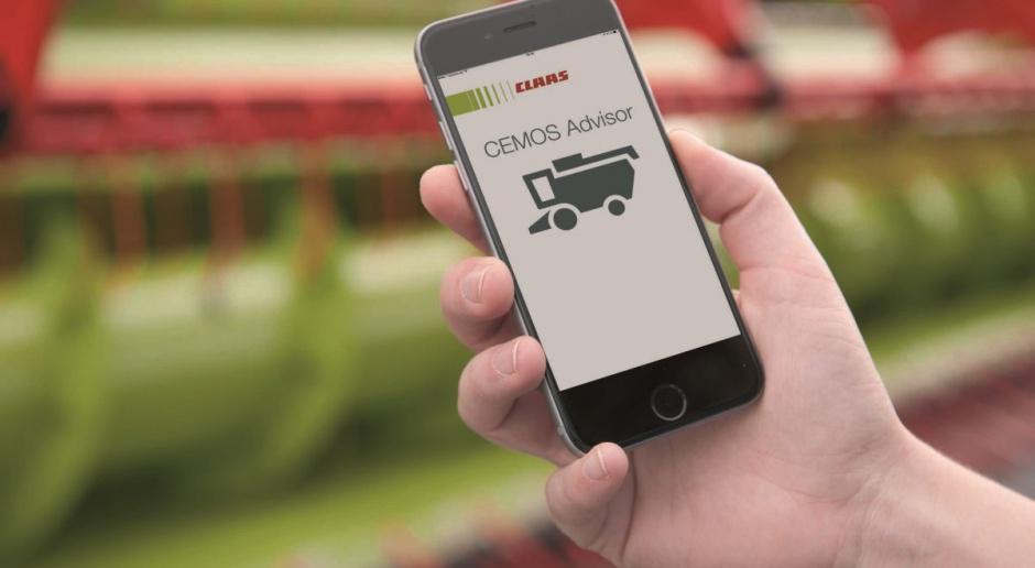 Lepsze młócenie z aplikacją Claas Cemos Advisor App
