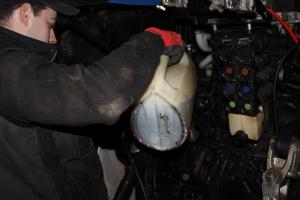 Pieniący się olej hydrauliczny cz.1