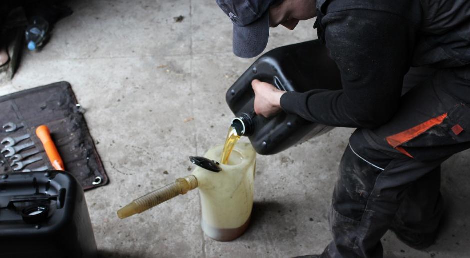 Pieniący się olej hydrauliczny cz.2