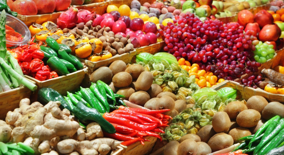Główny Urząd Statystyczny: Polacy jedzą coraz więcej owoców i warzyw