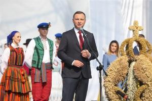 Prezydent: będę wspierał polskie rolnictwo w kraju i poza granicami