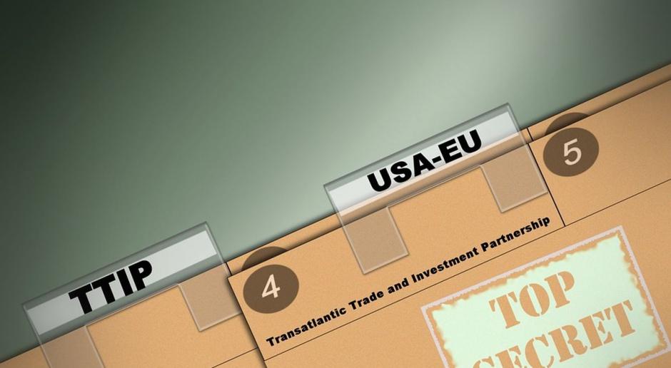 Protesty przeciw CETA i TTIP towarzyszą obradom ministrów handlu UE