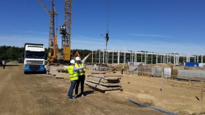 Budowa nowej fabryki SaMasz w Zabłudowie
