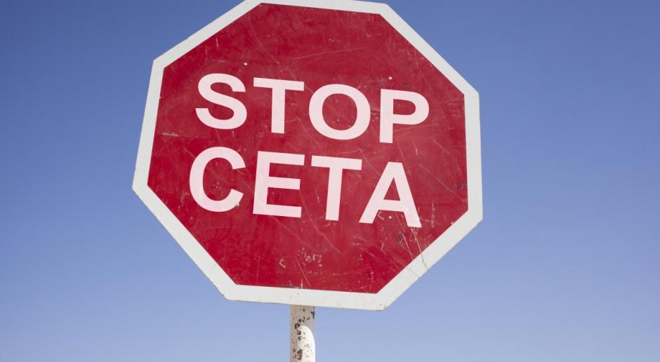 W Warszawie odbyły się protesty przeciwników CETA