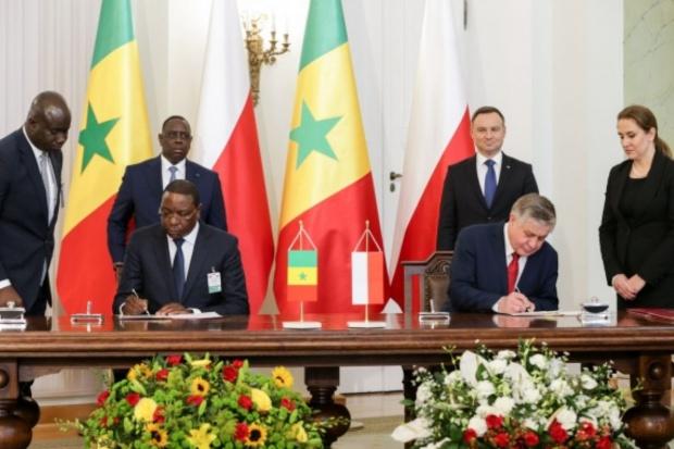 Polska i Senegal podpisały memorandum ws. współpracy w dziedzinie rolnictwa