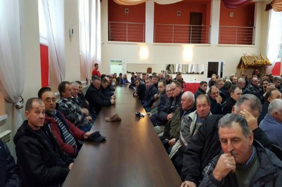 Na spotkanie przyszło ok. 130 rolników