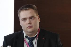 Bartosz Wojtaszczyk - moderator debaty oraz dziennikarz działu Trzoda chlewna miesięcznika