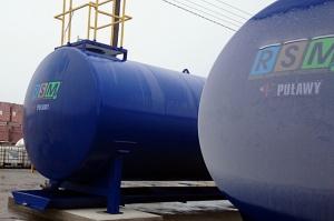 Przechowywanie w okresie zimowym nawozów typu RSM