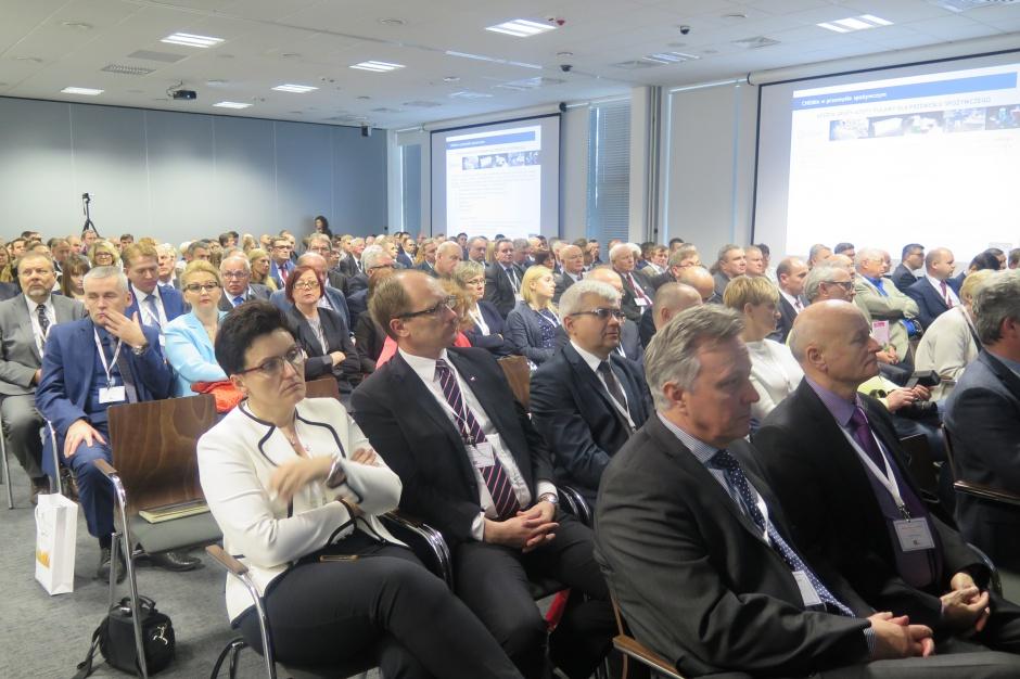 """Uczestnicy konferencji VI Konferencja """"Nauka- Biznes-Rolnictwo"""" w Puławach; Zdjęcia Joanna Groszyk"""