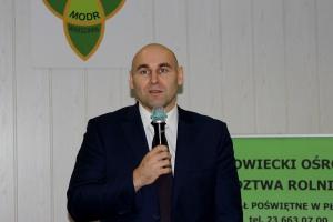 Dr Marcin Gołębiewski, SGGW w Warszawie