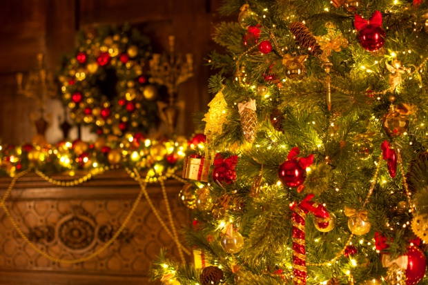 Bożonarodzeniowa choinka - symbol rajskiego drzewa