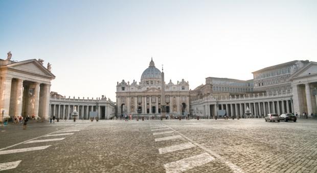 Zwierzęta hodowlane wypełniły okolice placu Św. Piotra w Watykanie