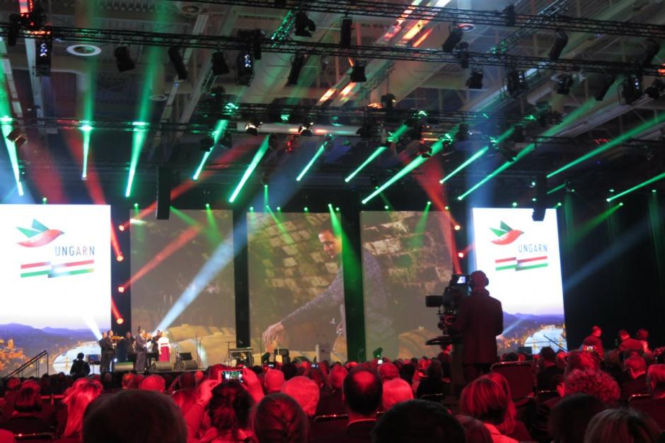 Uroczystość otwarcia Green Week, występ Węgier Berlin, fot. A. Ptak