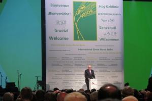Komisarz Phil Hogan, Green Week, 19 stycznia Berlin, fot. A. Ptak